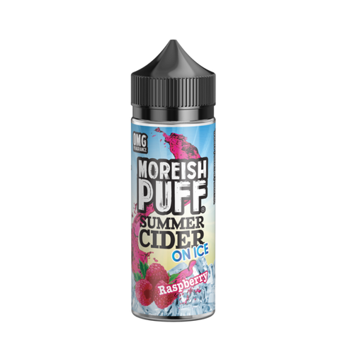 Moreish Puff Summer Cider - Raspberry Ice 100ml