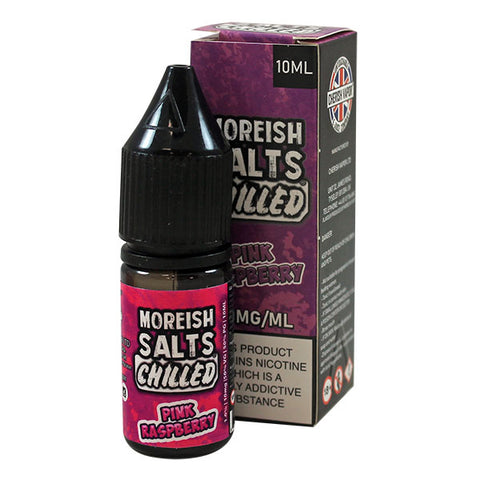 Moreish Puff Chilled - Pink Raspberry