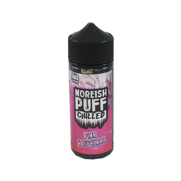 Moreish Puff Chilled - Pink Raspberry 100ml