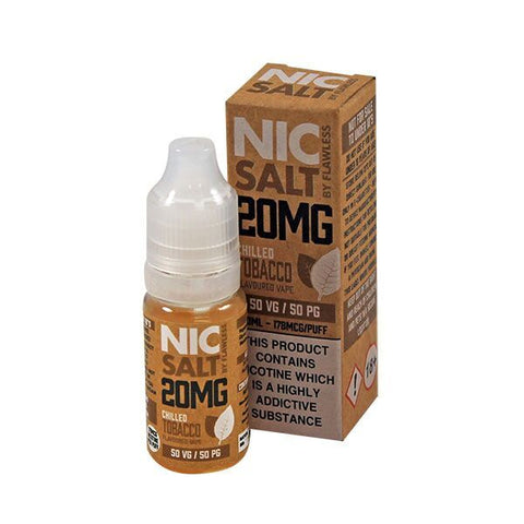 Nic Salt by Flawless - Chilled Tobacco 20mg