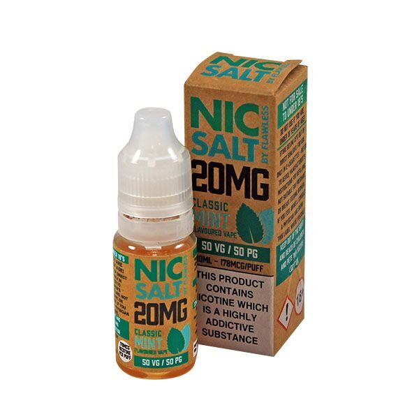 Nic Salt by Flawless - Classic Mint 20mg