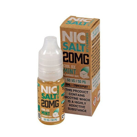 Nic Salt by Flawless - Cool Ice Mint 20mg