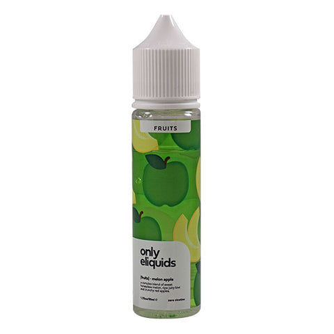 Only Eliquid Fruits - Melon Apple 50ml