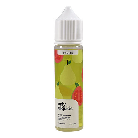 Only Eliquid Fruits - Pear Guava 50ml