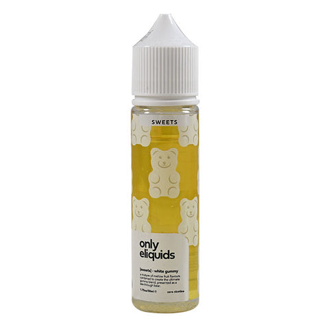 Only Eliquid Sweets - White Gummy 50ml