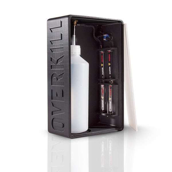 Overkill 500ml 8.4v Squonk - Black with Black