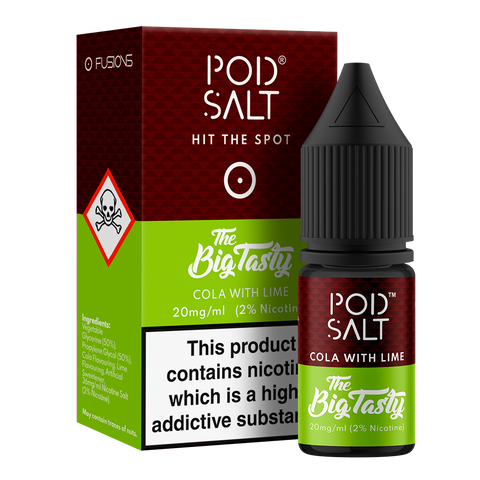 Pod Salt & Big Tasty - Cola & Lime 20mg
