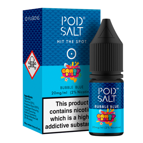 Pod Salt & Candy Rush - Bubble Blue 20mg