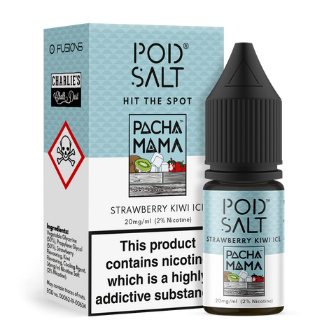 Pod Salt & Pacha Mama - Strawberry Kiwi Ice 20mg