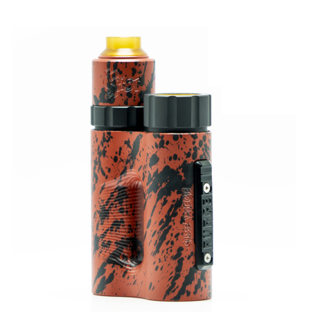 Purge Side Piece Set Up with Money Shot RDA - Blood Splatter