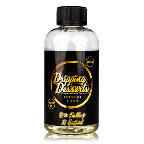 Rice Pudding and Custard By Dripping Desserts 200ml