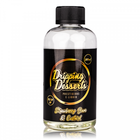 Strawberry Jam and Custard By Dripping Desserts 200ml