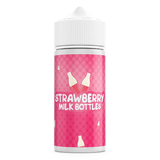 Strawberry Milk Bottles 100ml