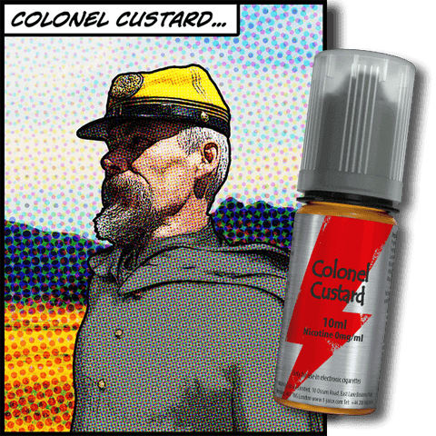 T-Juice Colonel Custard Concentrate - 30ml