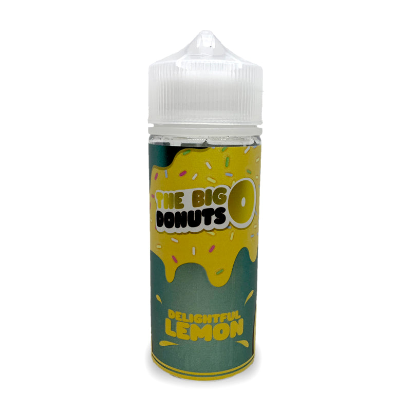 Delightful Lemon 100ml by The Big Donuts