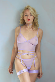 LOVE ME LILAC 4 PIECE SET