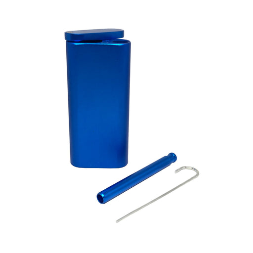 "META 4"" Dugout with One Hitter (Navy)"