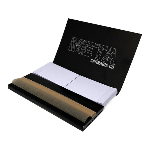 "META 1.25"" Unbleached Rolling Papers"