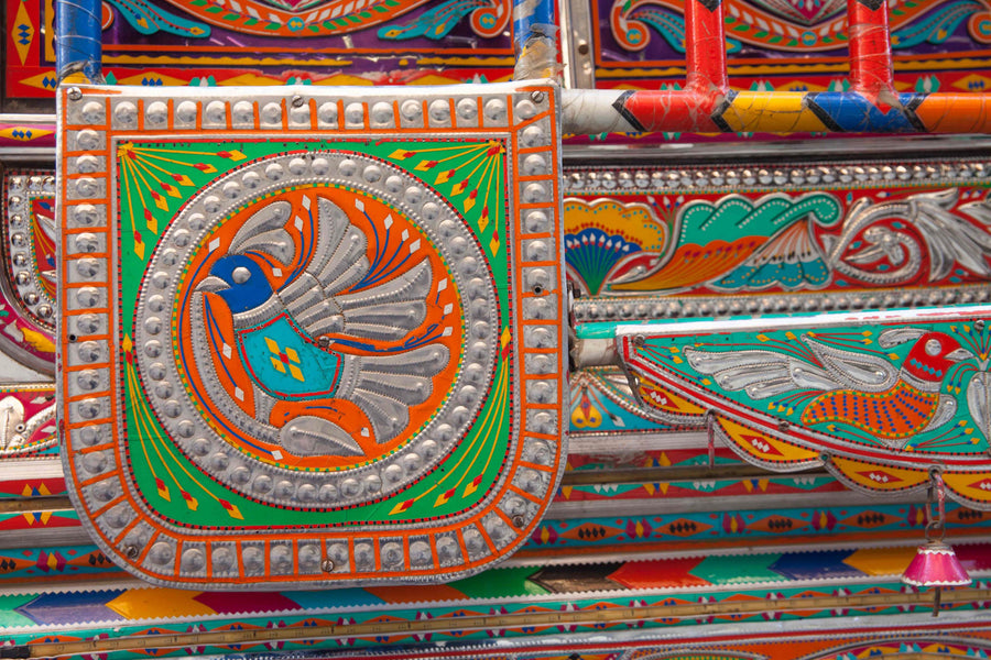 Truck Art and Chamak Patti