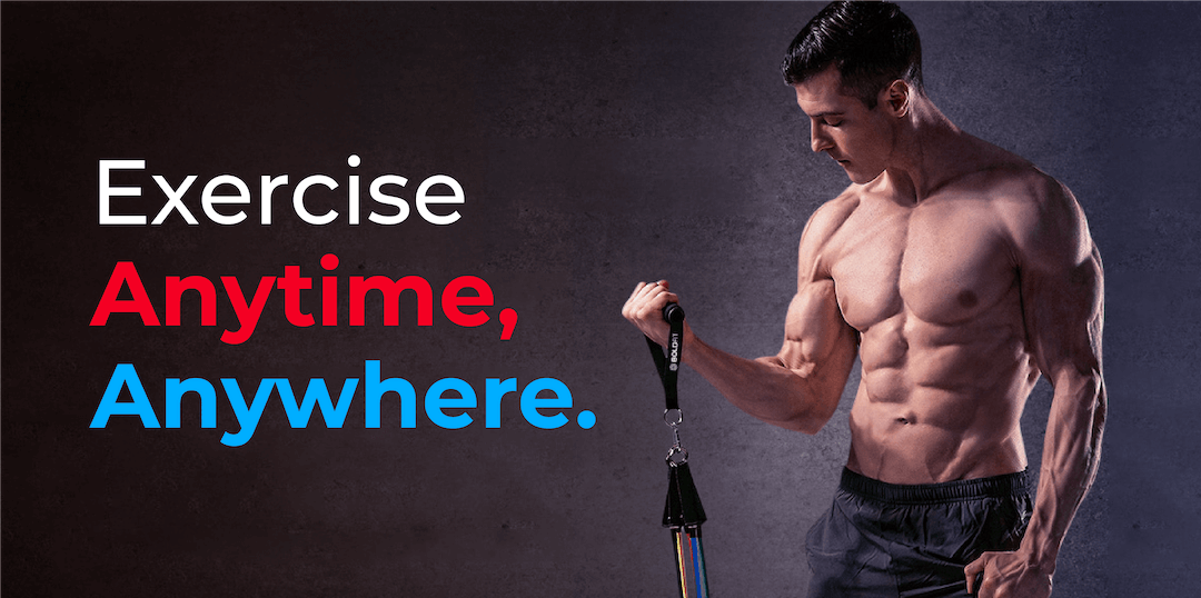 TAKE YOUR HOME WORKOUT TO THE NEXT LEVEL Banner