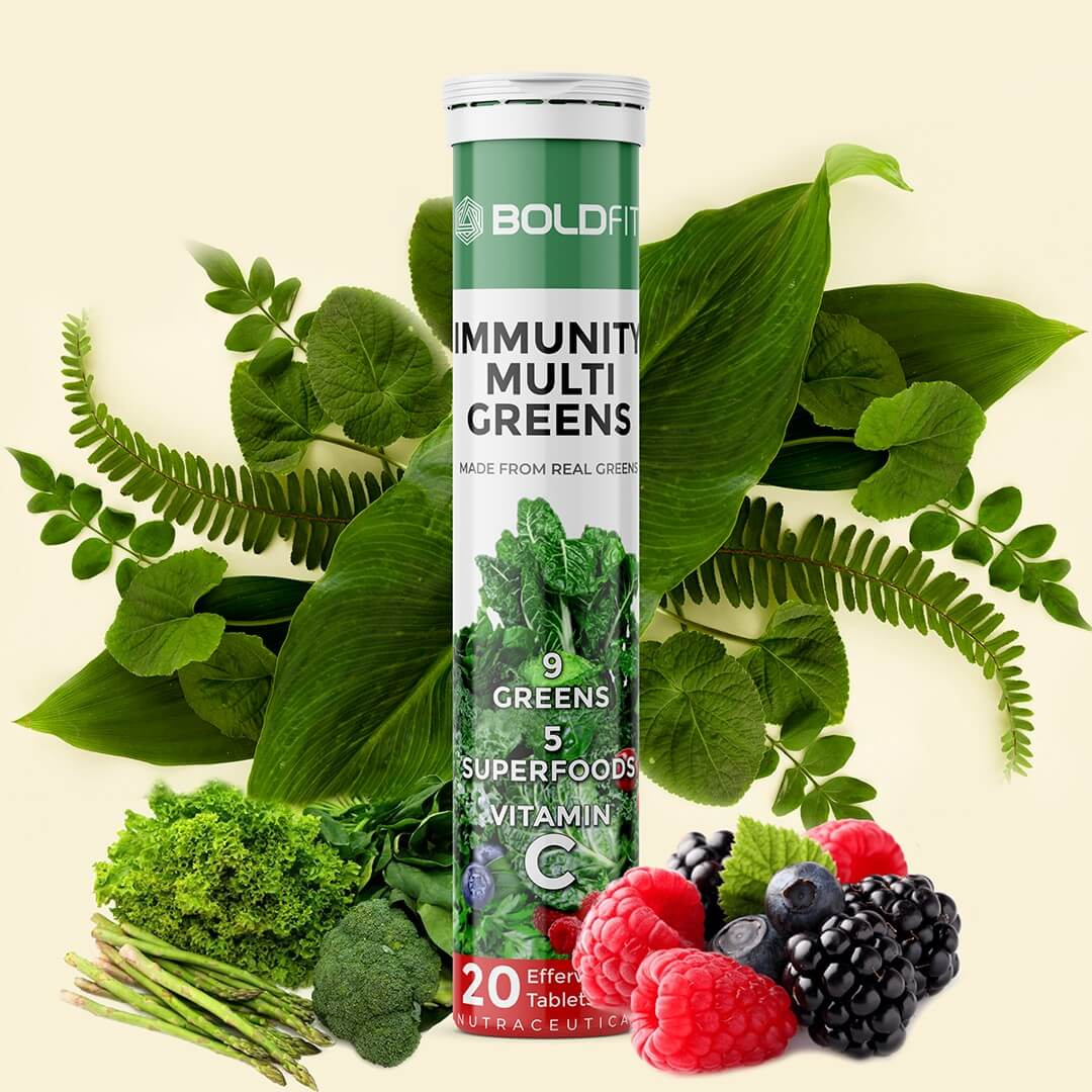 Immunity Multi Greens Effervescent Tablets