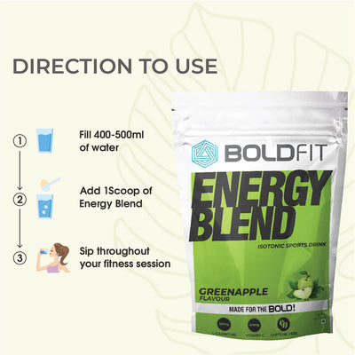 Energy Blend Electrolyte Isotonic Sports Drink