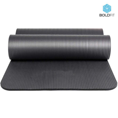 Boldfit NBR Yoga mat for men and women with Carrying Strap
