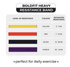 BoldFit Heavy Resistance Band