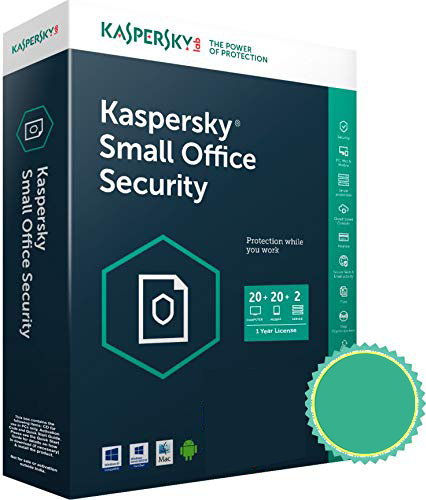 Kaspersky Small Office Security 6.0 20 postes + 2 server   WCA  Mini Sierra + 20 licences android - BESTBUY CONGO