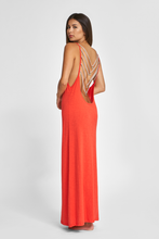 Evil Eye Backless Dress