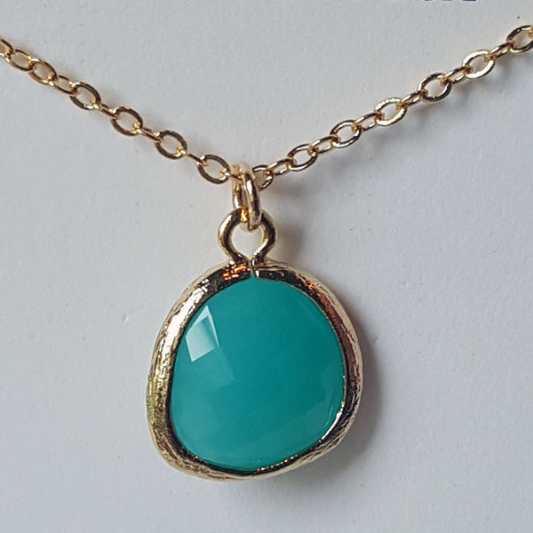 Gemstone Necklace (4 colors)
