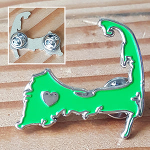 Cape Cod Love Enamel Pin