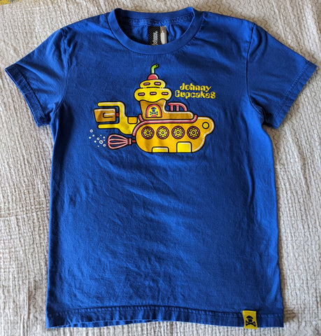 Women's Lg - Yellow Submarine Johnny Cupcakes