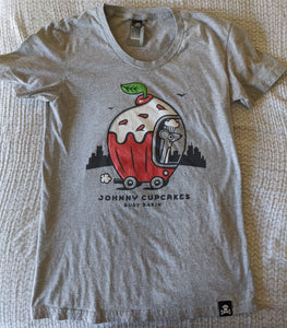 Women's XL - Busy World of Richard Scarry Johnny Cupcakes