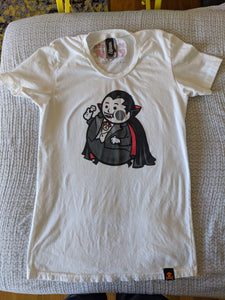 Women's XL - 2012 Vampire Big Kid Coffin Tour Johnny Cupcakes