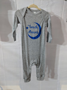 Beach Dreams Sleeper Romper