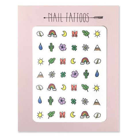 Great Outdoors Nail Tattoo Pack