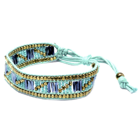 Adjustable Beaded Bracelet (2 colors)