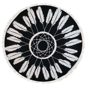 "Dreamcatcher 60"" Round Towel"
