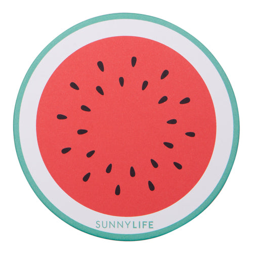 Pineapple/Watermelon Coaster Set