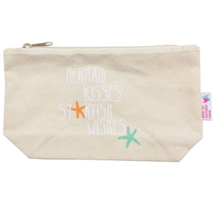 Mermaid Kisses Starfish Wishes Cosmetic Bag