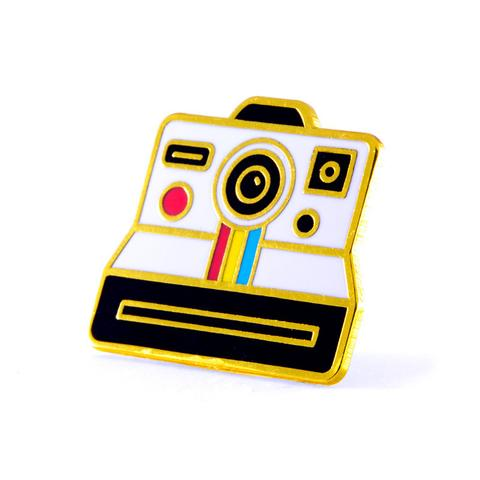 Polaroid Enamel Pin