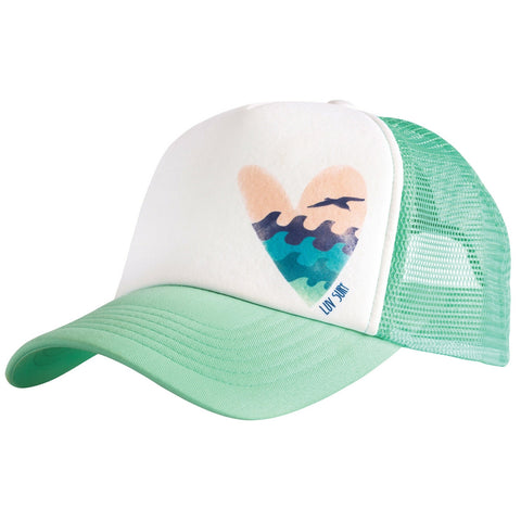 Sea Heart Trucker Hat