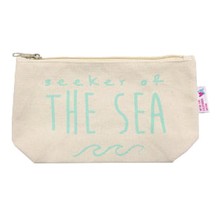 Seeker of the Sea Cosmetic Bag