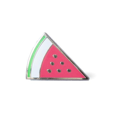 Watermelon Slice Enamel Pin