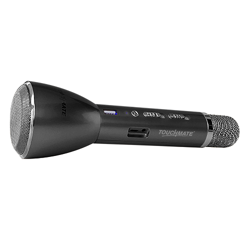TOUCHMATE TM-QK200 Wireless Karaoke Mic with Bluetooth Speaker , Echo & Powerbank Function - tharmart.com