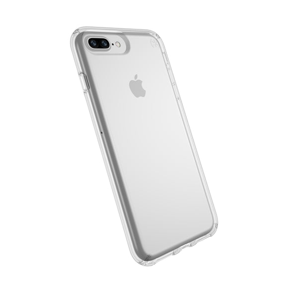 iPhone 8 Plus, iPhone 7 Plus, Transparent Clear Case, Red Frame - tharmart.com