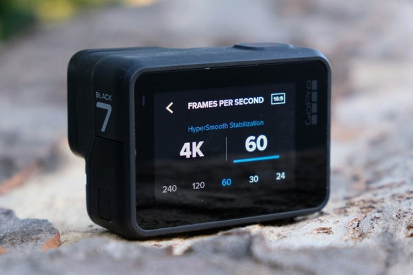 GoPro HERO7 Black Waterproof Digital Action Camera with Touch Screen 4K HD Video 12MP Photos Live Streaming Stabilization (Memory Not Included) | CHDHX 701 - tharmart.com