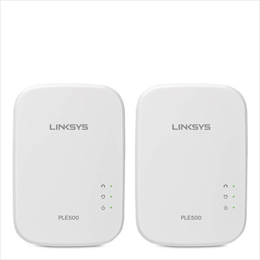 Linksys PLEK500 Powerline Wired Network Expansion Kit - tharmart.com