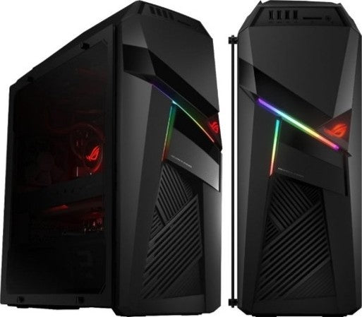 Asus Rog Strix GL12CX-C-AE001T Gaming Desktop, Intel Core i9-9900K, GeForce RTX 2080 8GB, 32GB RAM, 512GB SSD + 1TB HDD,  ROG STRIX Flare Mechanical KB & ROG Gladius II mouse Included, Win 10 | AE001T - tharmart.com